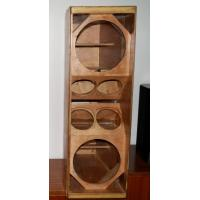 Buy cheap Dual 12 inch line array wooden cabinet product