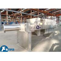 Buy cheap Chemical Slurry Stainless Steel Filter Press , 5m2 450mm Plate Frame Filter Press Unit product
