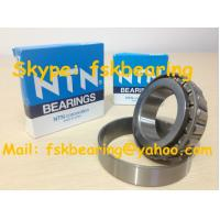 China NTN Brand Steel Cage Tapered Rolling Bearing Chrome / Carbon / Stainless Steel on sale