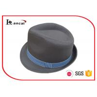 Buy cheap Dark Gray Ladies Trilby Hats product