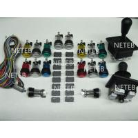 Buy cheap Joystick Pack, 2 Joysticks and 16 Clear illuminated button with Micro switches,jamma harness product