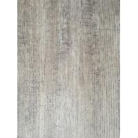 Oak Design Wood Grain Sticker Paper Veneer Nature Texture , Grey Melamine Wood Grain Sticker Paper