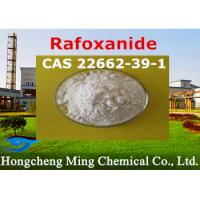 Buy cheap Rafoxanide CAS 22662-39-1 Pharmaceutical Raw Materials Veterinary Medicine Insecticide product