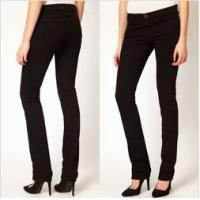 Buy cheap Black High-Rise women Jeans,skinny fit and five pocket styling   product