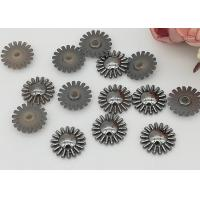 Buy cheap 15mm SunFlower Design Acrylic Flatback Rhinestone Crystal Cabochons For Diy from wholesalers