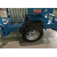 China 10m Hydraulic Truck Mounted Aerial Lift Dual Mast For Outdoor Maintenance Work wholesale