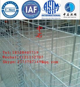 Buy cheap Malla de alambre hexagonal del muro de contención de la defensa de Gabion galvanizada product