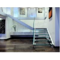 Buy cheap Strong Glass Staircase Aluminum Base Shoe Railing from wholesalers