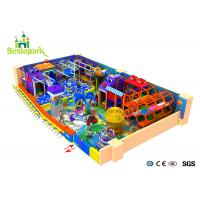 Professional Playland Baby Indoor Playground With Climb / Jump Function