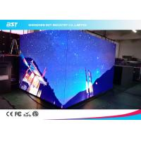 Buy cheap Seamless Splici Indoor LED Video Walls, Large LED Display PanelsP3mm 90 Degree Angle product