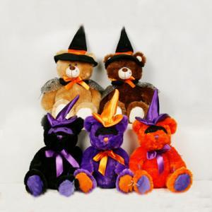 Buy cheap Juguetes rellenos negros y anaranjados del oso de peluche de Halloween para el partido de Halloween product