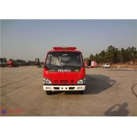 Buy cheap Strobe Lights Installed Water Tanker Fire Truck With Hydraulic Control Clutch product