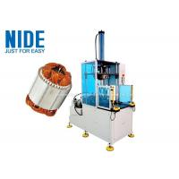 Buy cheap NIDE Stator Winding Coil middle Forming Machine with PLC and hydraulic system product