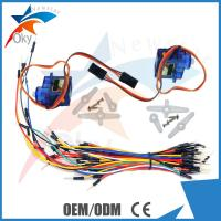 China UNO R3 Nylon PTZ 9G Servo motor Starter Kit For Arduino , 70pcs Breadboard Jumper Wire Kit wholesale