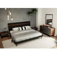 MDF Material Contemporary Bedroom Furniture Sets Panel Wood European Style