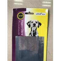 Buy cheap Pet Food Packaging Aluminum Foil Stand Up Pouch With Easy Open V - Cut Tear from wholesalers