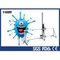 Buy cheap Big 3D Outdoor Direct To Wall Inkjet Printer , Wall Paper Mural Printing Machine product