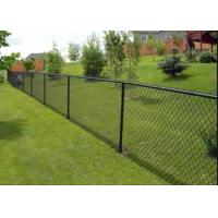 China Practical Sports Ground Fencing / Chain Link Mesh Fence No Toxic Material on sale