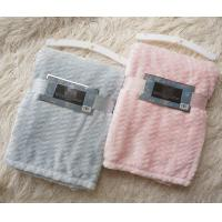 Small Jacquard Style Flannel Blanket For Baby , Children Kids Throw Blanket
