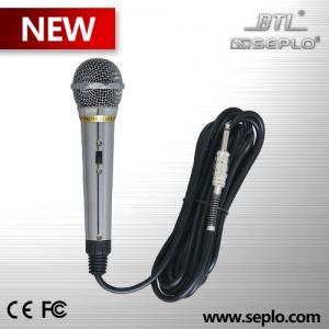 Micrófono profesional dinámico SE-66 del alambre del metal