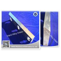 Buy cheap Waste Plastic Crusher Blades 279mm*80mm*30mm Dimension 4222g Weight product