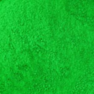 Color verde del pigmento fluorescente de la materia prima para la tinta de impresión de la pantalla
