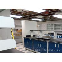 Stain Resistant School Science Laboratory Furniture Worktop Supported By Steel Frame