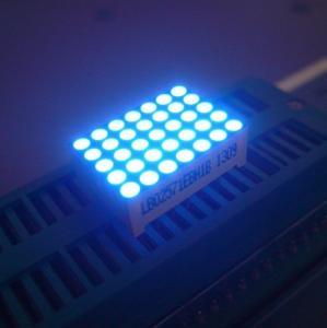 Buy cheap Good Consistency 5 x 7 LED Dot Matrix Display Yellow Segments Black Face product