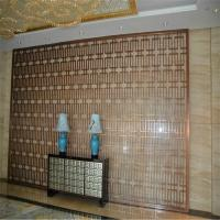 Buy cheap feature stainless steel panel metal feature screens for wall cladding or wall divider product