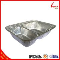 Buy cheap Two compartment Take-out Aluminum Foil Container For food Packing product