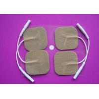 Buy cheap Square No Allergy Stimulation Residue And Reliable Physical Electrode, Non-woven Conductive Electrode Pads product