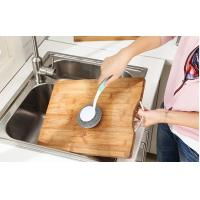 Buy cheap Eco Friendly Stainless Steel Scrubber With Handle Ideal For Kitchne Pots And Pans product