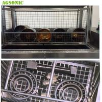 Buy cheap Rail Bearing Parts Washer Ultrasonic Filtration System Carbon Rust Ink And Paint Removal from wholesalers