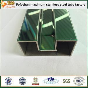 Buy cheap 300 series ASTM colorearon el tubo soldado con autógena del acero inoxidable product
