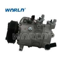 Buy cheap 6PK 15 110MM Vehicle AC Compressor For VW Tiguan Sanden PXE14 Volkswagen Air Conditioning Pumps product