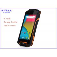 Buy cheap Portable Rugged Waterproof Phone Adopt GSM Standard 1280*720 Pixel product
