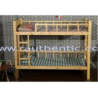 China Natural Kids Wooden Bunk Beds , Contemporary Eco - Friendly Wooden Loft Bed on sale