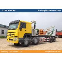 China TITAN 20 ft Side Loader Container Truck , Sidelifter Truck for sale on sale