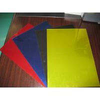 Colorful PP Raw PVC Book Cover Environmentally Friendly with Plastic