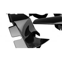 Buy cheap Black Carbon Fiber Parts , Replacement Carbon Fiber Accessories For Motorcycle product