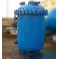 China 500L Carbon Steel Glass Lined Vessel , K Type / F Type Jacketed Reactor Vessel on sale