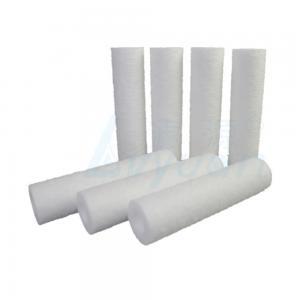 Buy cheap Lvyuan 80% Efficiency 30Inch 20um PP Spun Sediment Filter product