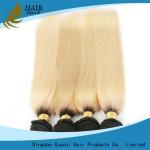 Buy cheap Les cheveux 100% de blanc ont coloré des cheveux ExtensionsYaki de Vierge droits aucune catégorie des dommages 7A product