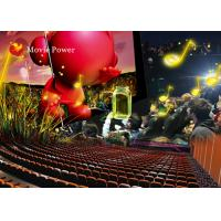 China Amazing Shooting Game Interactive 4D Movie Theater Blow Air To Face on sale