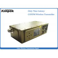 Buy cheap 75ms Latency Cofdm Video Transmission 300-900Mhz Manpack COFDM Modulation product
