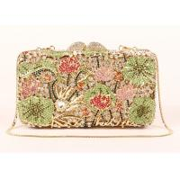Rhinestone Novelty New Look Clutch Bags , Top Grade Crystal Beaded Clutch Bag
