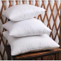 Buy cheap Grey Duck Feather Cotton Cushion Inserts White Knife Edge OEM product
