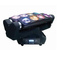 Buy cheap 8x10W RGBW 4in1 Pixel Control DMX LED Spider Beam Moving Head Light for Night Club product