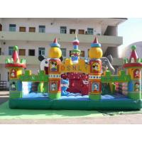 Buy cheap Children Giant Inflatable Theme Park / Outdoor Blow Up Playground from wholesalers