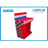 Buy cheap Retail Shop Cardboard Peg Hook Display Rack / Pop Up Cardboard Display Stands product